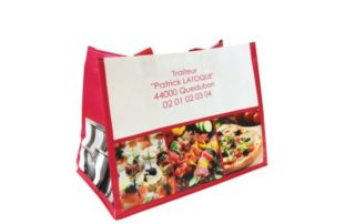 Emballages alimentaires et cabas personnalisables